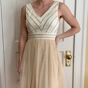 Cream Modcloth Dress